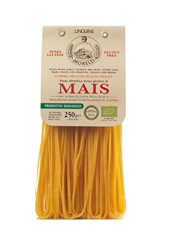 Antico Pastificio Toscano MORELLI - Linguine with Corn - Gluten Free - Pack of 4 packs (4 x 250g) von YesEatIs