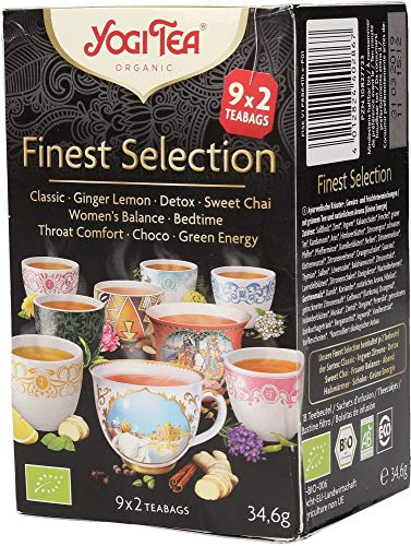 Yogi Tea Finest Selection, 2er Pack (2 x 34.6 g) von Yogi Tea