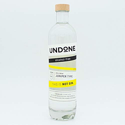 Undone No. 2 Juniper Type - Alternative zu Alkoholfrei Gin (1 x 700 ml) von Undone