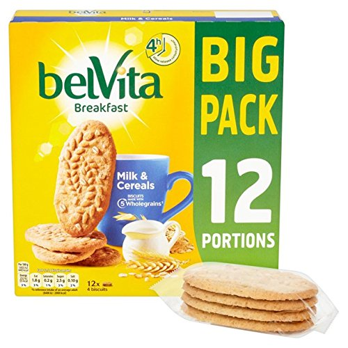 Belvita Breakfast Milk And Cereal Biscuits X 12 Pack 600G von belVita