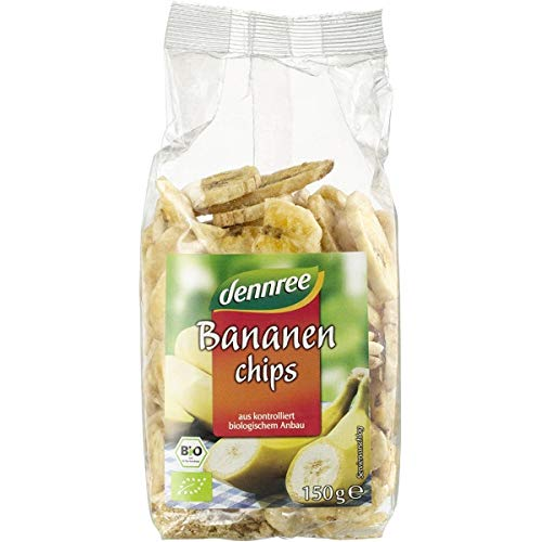 dennree Bananenchips (150 g) - Bio von dennree
