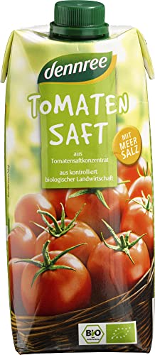 dennree Bio Tomatensaft (6 x 500 ml) von dennree
