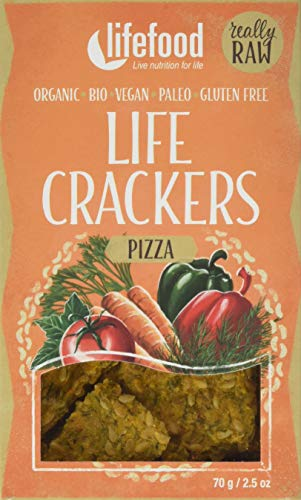 lifefood  Life Crackers Pizza, 2er Pack (2 x 70 g) von lifefood